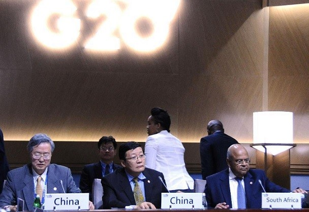 China representatives at G20 summit