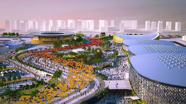 The designers are hoping to create a lasting legacy after the event (Aecom)