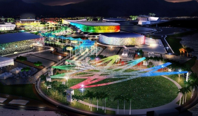 The main Olympic park will be located on a former Formula One race track in Barra da Tijuca (Aecom)