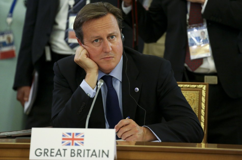 David Cameron sidelined at G20 St Petersburg summit