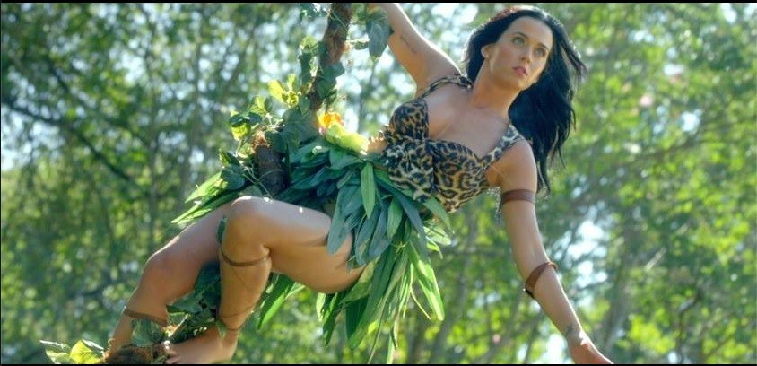 New Jane of the Jungle - Katy Perry. Image - Facebook/Official Katy Perry Page