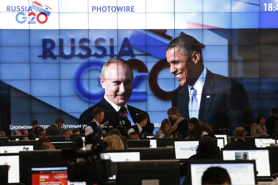 US and Russia at G20 summit