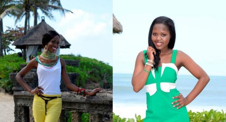 Miss World Kenya 2013, Wangui Gitonga (L) and Miss World Lesotho 2013, Mamahlape Caroline (Photo: Miss World/Facebook)