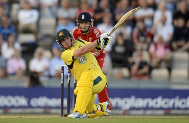 Aaron Finch (L) and Jos Buttler