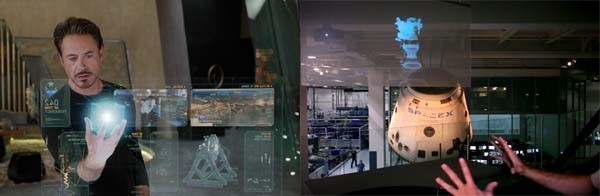 Iron Man 3D Virtual Computer
