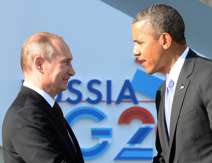 G20 Summit: Obama and Putin