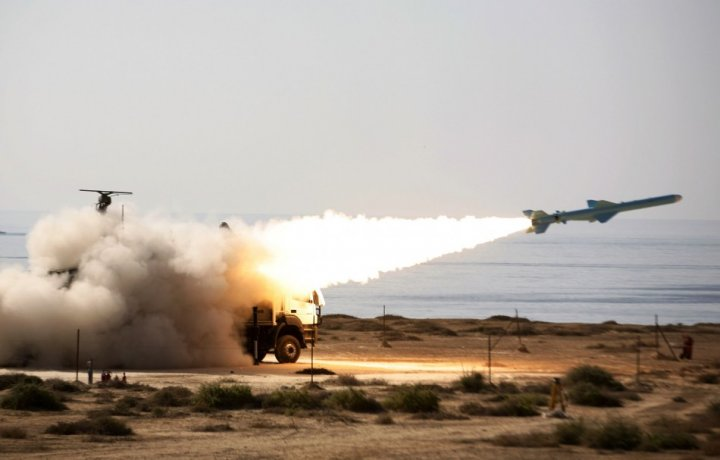 Iranian long-range missile