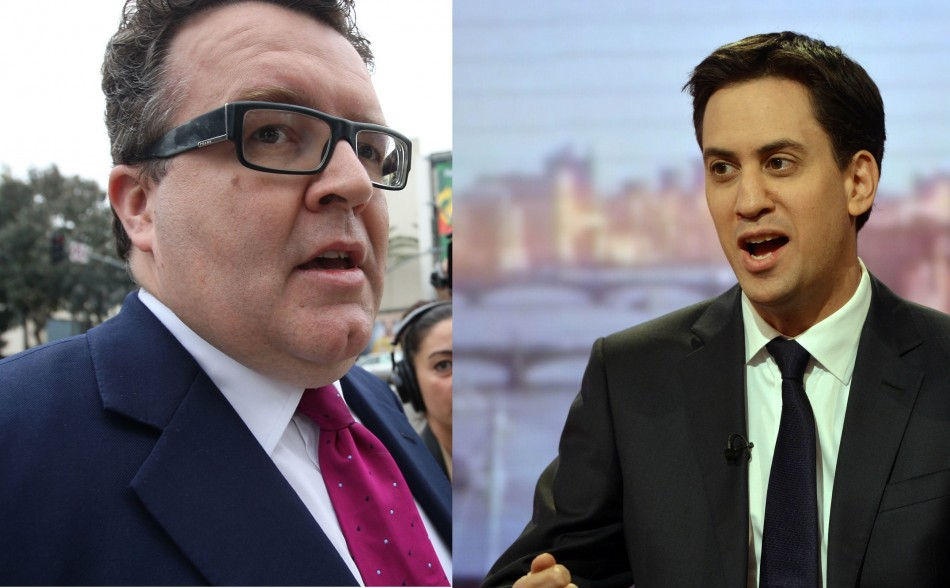 Tom Watson and Ed Miliband