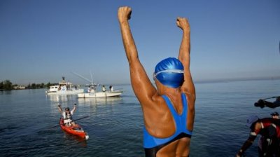 Diana Nyad Swims Cuba to Florida