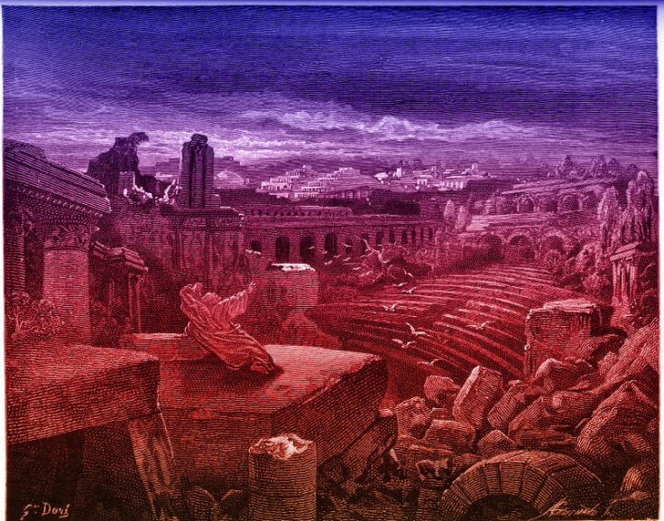 Isaiah's vision of destruction