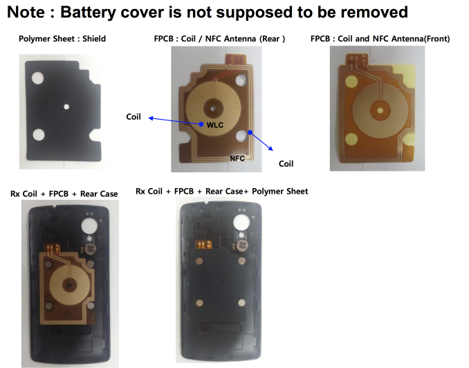 Nexus 5 FCC Filing Screen shot