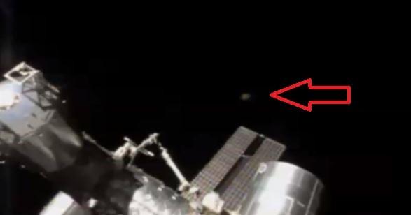 UFO Sighting at NASA's ISS