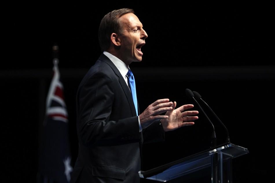 Tony Abbott: Australia Under a New Management