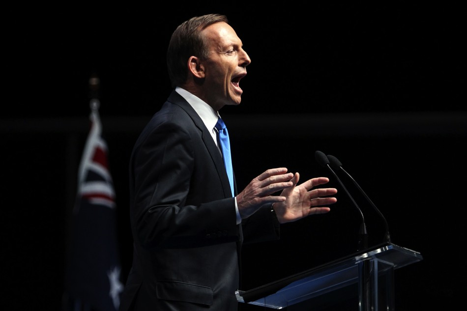 Conservative leader Tony Abbott is the new prime minister of Australia.