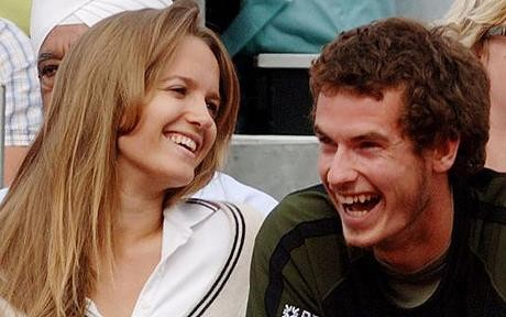 Andy Murray and girlfriend Kim Sears