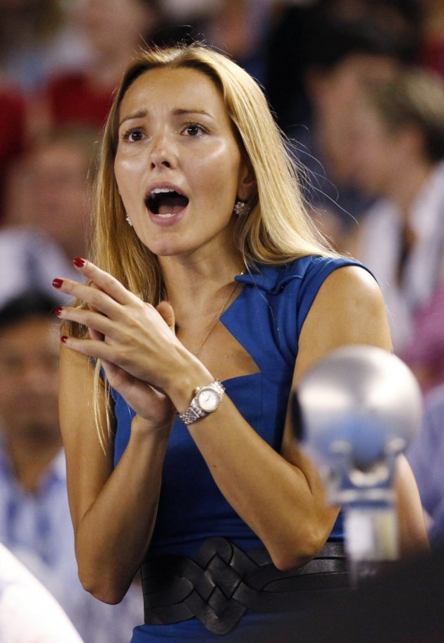 Love Is All Around, as Girlfriends of Djokovic and Nadal Head for US