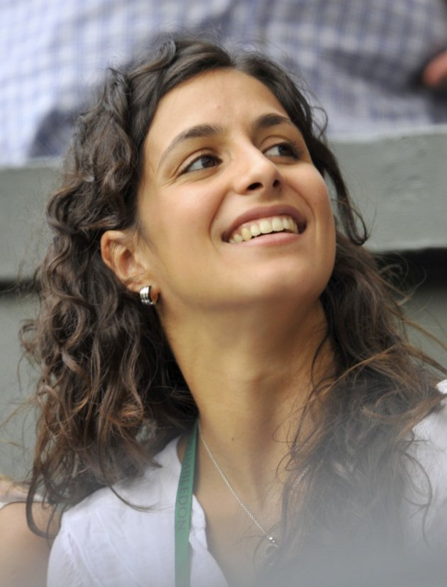 On Centre Court for Nadal's semi-final match against Britain's Andy Murray at the 2010 Wimbledon tennis championships, 2010.