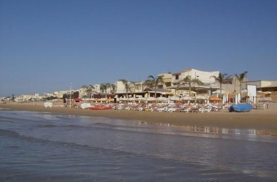 Tre Fontane beach, near Campobello, on the Sicilian Coast