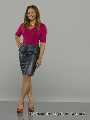 Castle Season 6 Promo Photo: Tamala Jones as Lanie Parish, NYPD Forensics Expert
