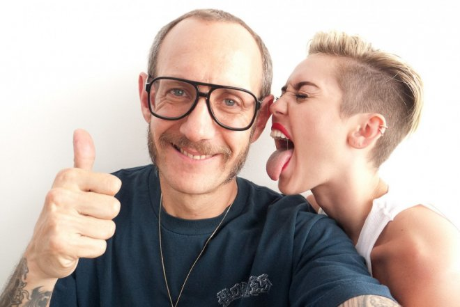 Miley Cyrus Photo shoot with Terry Richardson