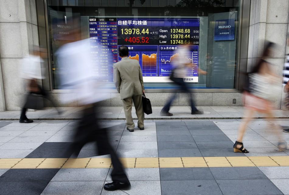 Japan's Nikkei average