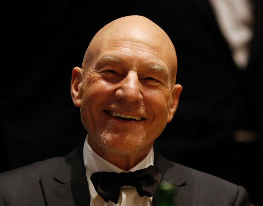 Sir Patrick Stewart has tied the knot with his girlfriend, jazz singer Sunny Ozell.