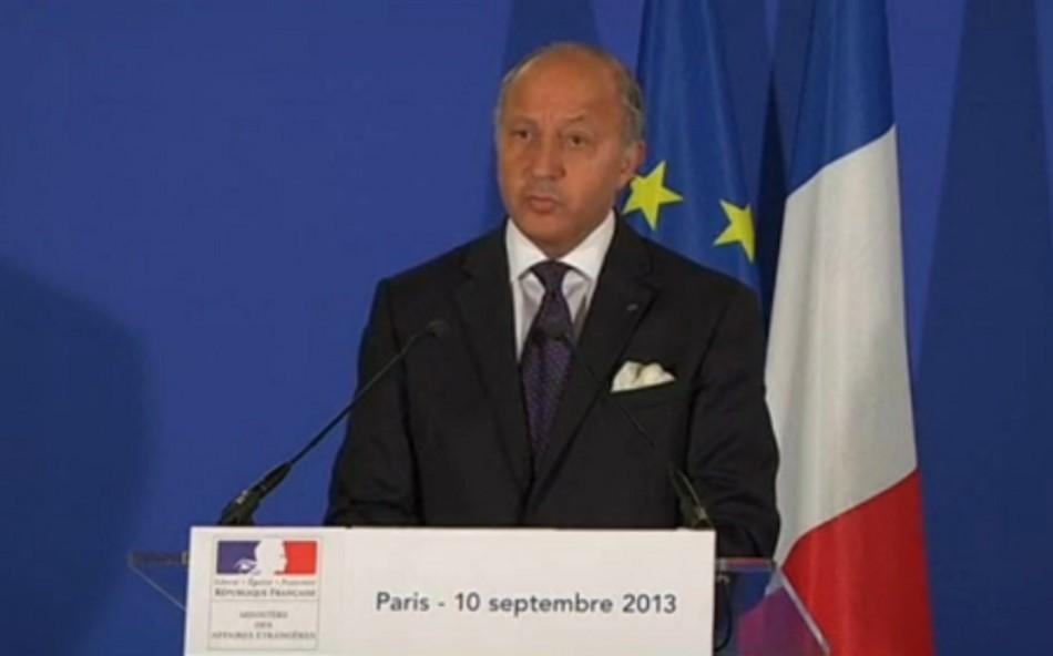France syria fabius