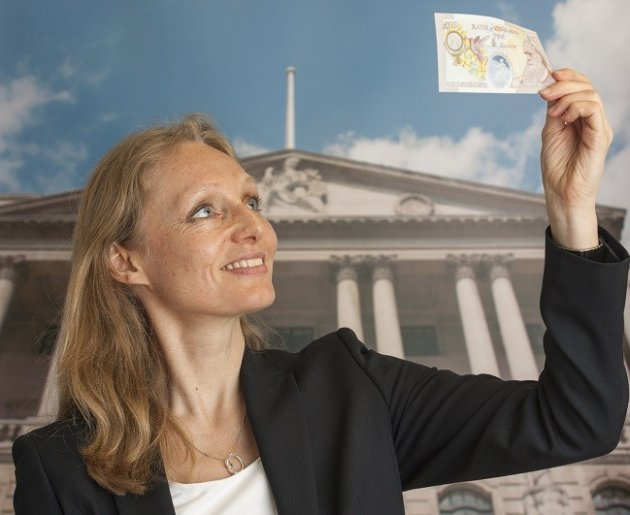 Plastic cash is not blue-sky thinking PIC: Bank of England