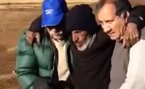Raul Fernando Gomez Circunegui was rescued after spending four months lost in the Andes (GHM Contenidos/YouTube)
