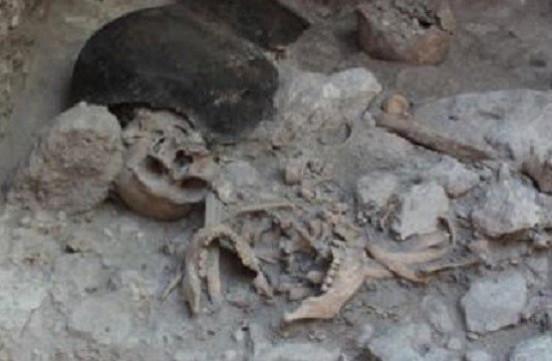 Millennia-old Mayan remains