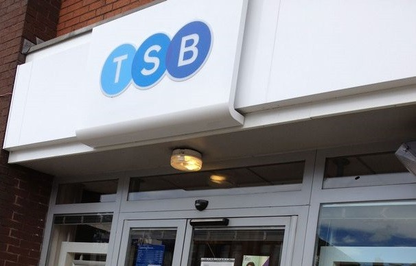 TSB in Prestwich, Greater Manchester PIC: BBC