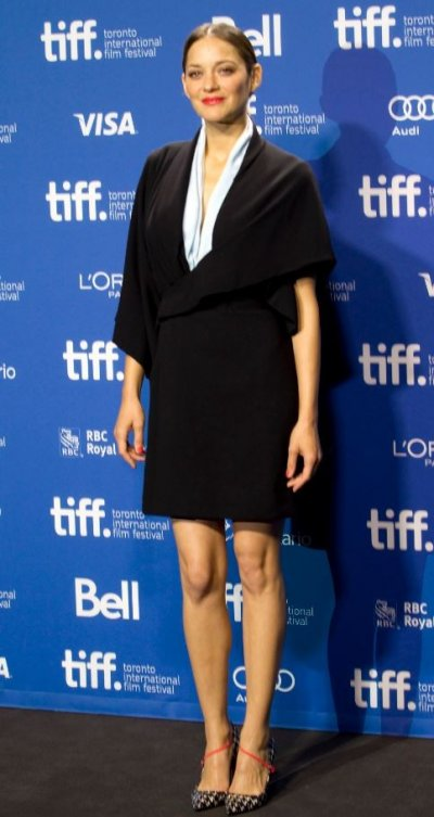 Actress Marion Cotillard attends a news conference for the film Blood Ties at the 38th Toronto International Film Festival September 10, 2013.