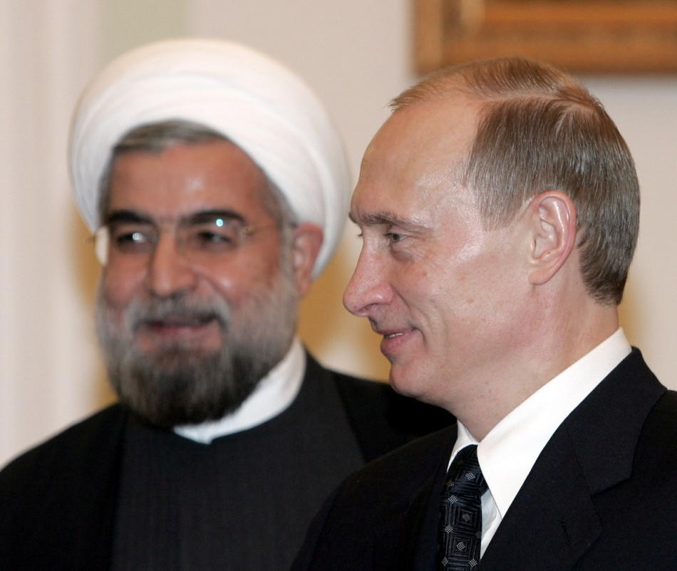 Iran-Russia S-300 missile system deal