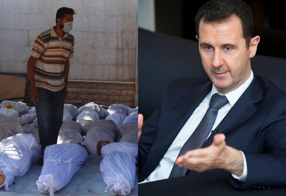 Bashar al-Assad Ghouta