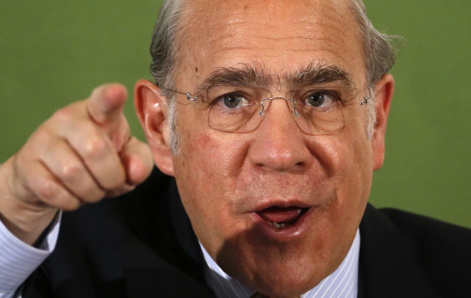 OECD chief Angel Gurría