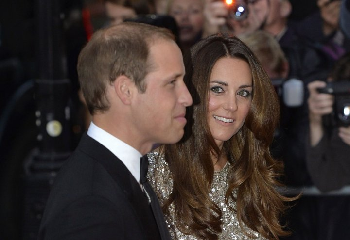 The Duchess seems to have eyes only for her prince. (Reuters)