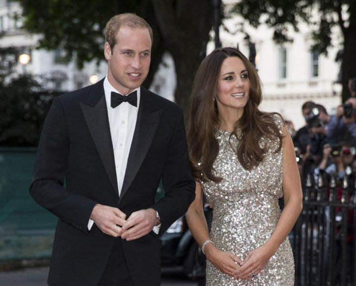 The Tusk Conservation Awards at The Royal Society was the first joint official engagement for Prince William and Kate Middleton, since the birth of their son, Prince George. (REUTERS)