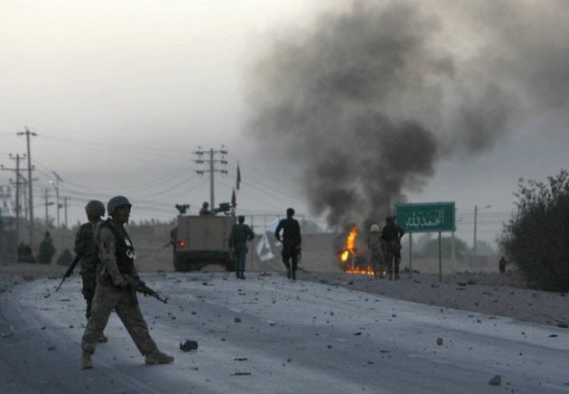 Afghan Taliban attack US consulate in Herat