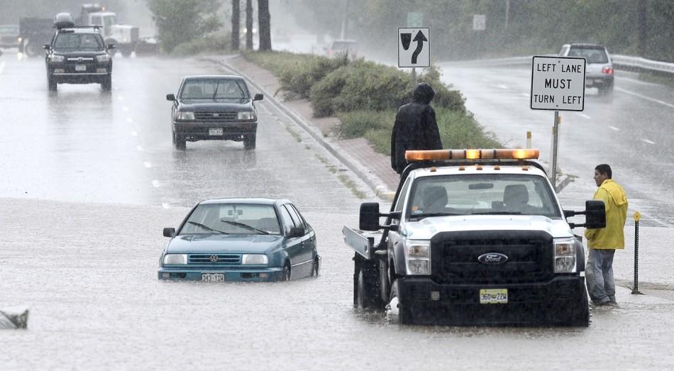Vehicles stuck in Boulder