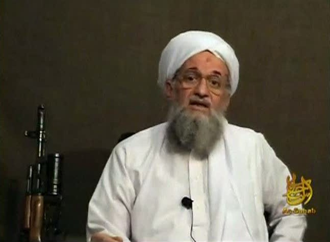 Al Qaeda's second-in-command Ayman al-Zawahri