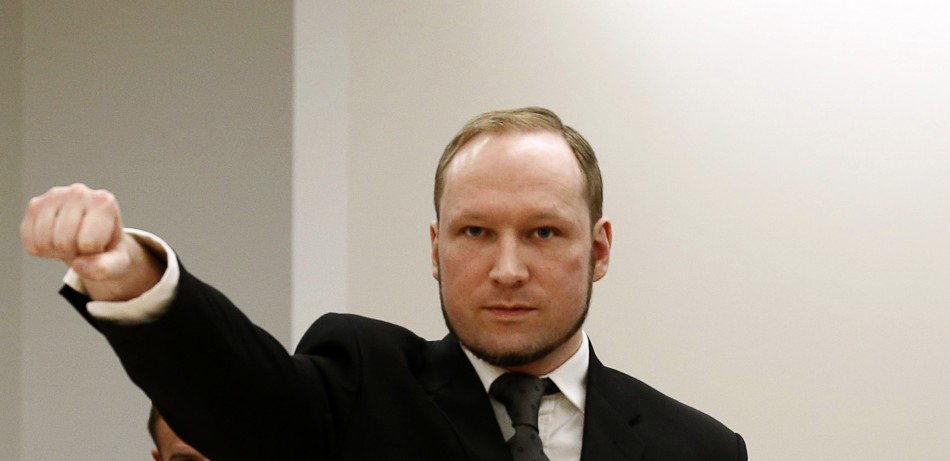 Mass killer Anders Behring Breivik to study politics at Oslo university PIC: Reuters