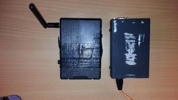 A KVM device  similar to what was used in the Santander plot (Met Police)