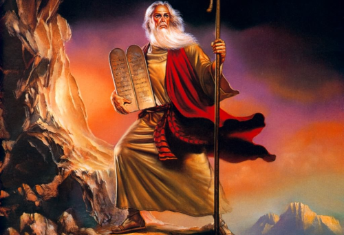 Yom Kippur: Moses's return form Mount Sinai