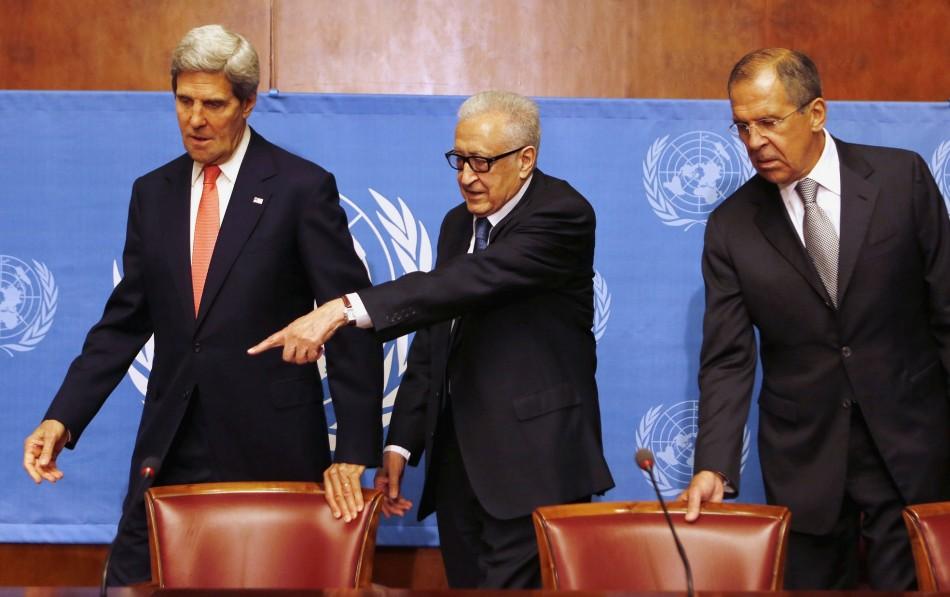 Geneva talks on Syria