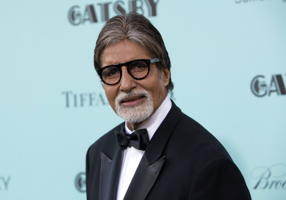 Actor Amitabh Bachchan attends the The Great Gatsby world premiere at Avery Fisher Hall at Lincoln Center for the Performing Arts in New York May 1, 2013. Bachchan, 70, has been rewarded in Amsterdam for his contribution to Indian cinema.(REUTERS/Andrew K