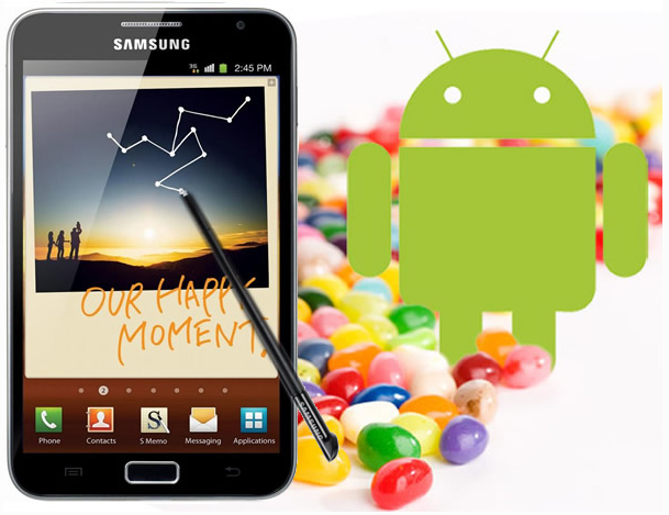 Galaxy Note N7000 Gets New Android 4 1 2 XXLTA OTA Update [How to