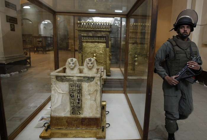 Egypt's museums have suffered widescale looting and pillaging in the aftermath of President Morsi's ousting.