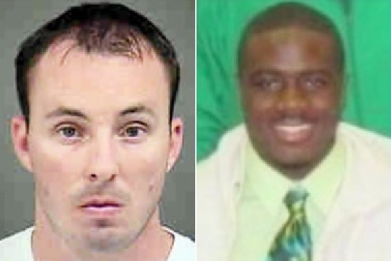 Randall Kerrick, left, and Jonathan Ferrell