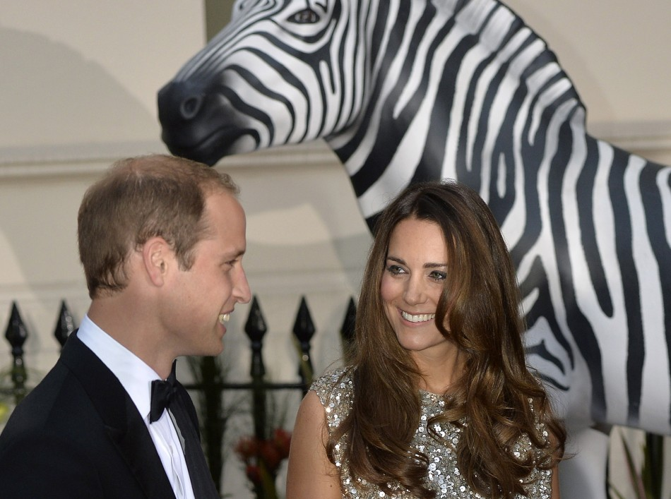 Prince William and wife Kate return to royal duties at Tusk Awards after birth of Prince George