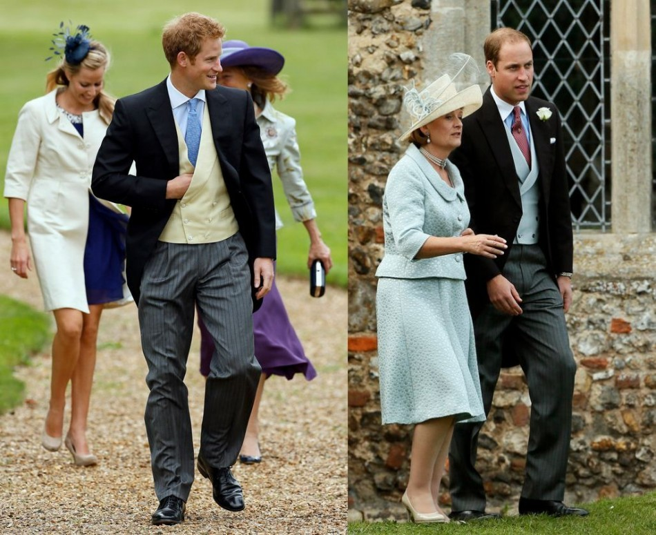 Prince William and Prince Harry too attended the wedding of Laura Marsham to James Meade. Meade is said to be a close friend of the Duke of Cambridge.(Reuters)